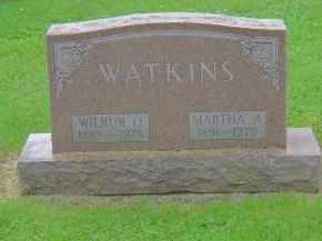 WATKINS, MARTHA A - Franklin County, Ohio | MARTHA A WATKINS - Ohio Gravestone Photos