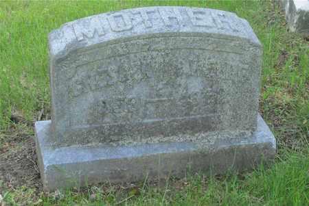 WELDE, CRESCENTIA - Franklin County, Ohio   CRESCENTIA WELDE - Ohio Gravestone Photos