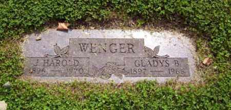 WENGER, GLADYS B. - Franklin County, Ohio | GLADYS B. WENGER - Ohio Gravestone Photos