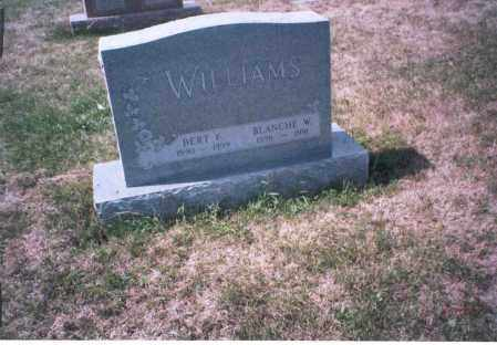 WILLIAMS, BERT E . - Franklin County, Ohio | BERT E . WILLIAMS - Ohio Gravestone Photos
