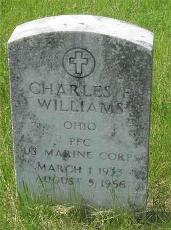 WILLIAMS, CHARLES F. - Franklin County, Ohio | CHARLES F. WILLIAMS - Ohio Gravestone Photos