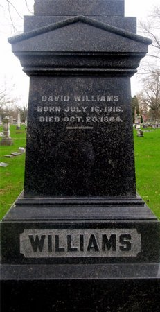 WILLIAMS, DAVID - Franklin County, Ohio   DAVID WILLIAMS - Ohio Gravestone Photos