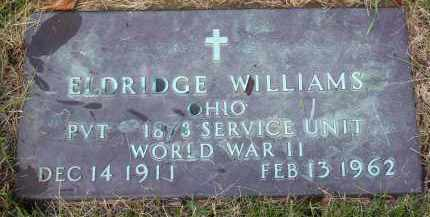 "WILLIAMS, ELDRIDGE ""RUDY"" - Franklin County, Ohio 