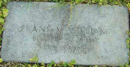 WILLIAMS, FRANK - Franklin County, Ohio | FRANK WILLIAMS - Ohio Gravestone Photos