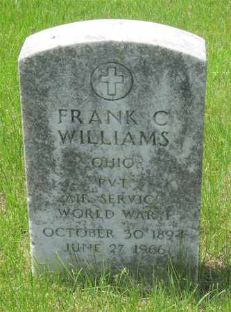 WILLIAMS, FRANK C. - Franklin County, Ohio | FRANK C. WILLIAMS - Ohio Gravestone Photos
