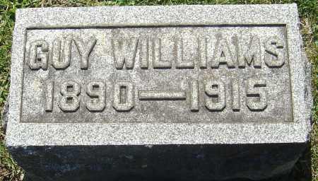 WILLIAMS, GUY - Franklin County, Ohio   GUY WILLIAMS - Ohio Gravestone Photos