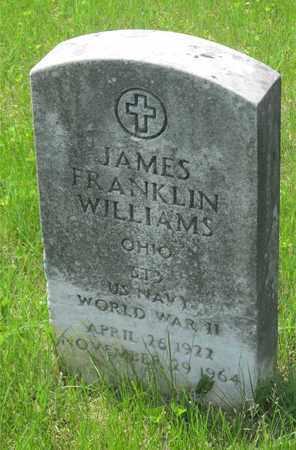 WILLIAMS, JAMES FRANKLIN - Franklin County, Ohio   JAMES FRANKLIN WILLIAMS - Ohio Gravestone Photos
