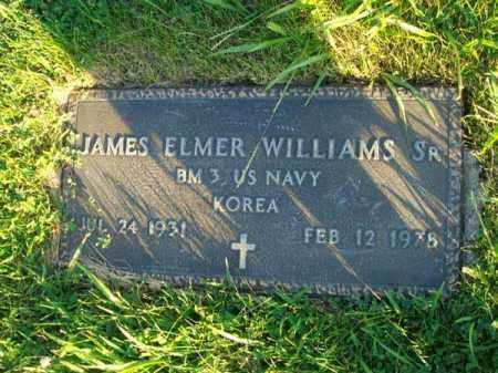 WILLIAMS, JAMES ELMER - Franklin County, Ohio | JAMES ELMER WILLIAMS - Ohio Gravestone Photos