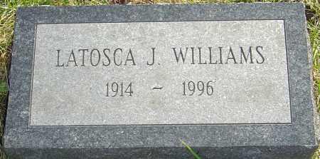WILLIAMS, LATOSCA - Franklin County, Ohio   LATOSCA WILLIAMS - Ohio Gravestone Photos