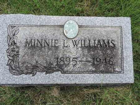 WILLIAMS, MINNIE L. - Franklin County, Ohio | MINNIE L. WILLIAMS - Ohio Gravestone Photos