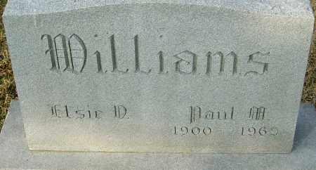WILLIAMS, PAUL M - Franklin County, Ohio | PAUL M WILLIAMS - Ohio Gravestone Photos