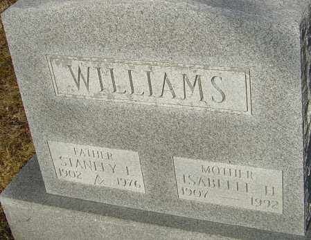 WILLIAMS, ISABELLE H - Franklin County, Ohio | ISABELLE H WILLIAMS - Ohio Gravestone Photos