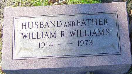 WILLIAMS, WILLIAM R - Franklin County, Ohio   WILLIAM R WILLIAMS - Ohio Gravestone Photos