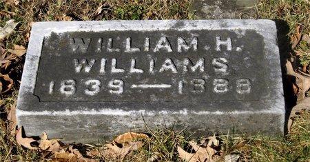 WILLIAMS, WILLIAM H. - Franklin County, Ohio | WILLIAM H. WILLIAMS - Ohio Gravestone Photos