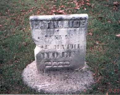 WOLF, CATHERINE - Franklin County, Ohio | CATHERINE WOLF - Ohio Gravestone Photos