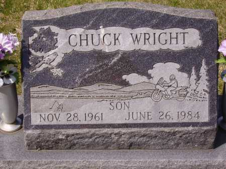 WRIGHT, CHUCK - Franklin County, Ohio | CHUCK WRIGHT - Ohio Gravestone Photos