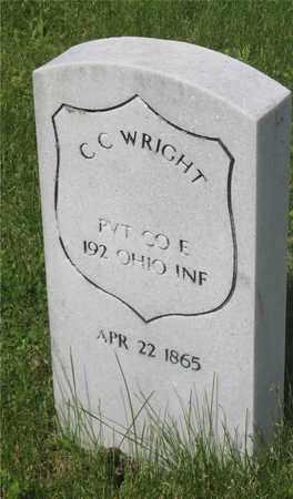 WRIGHT, C. C. - Franklin County, Ohio | C. C. WRIGHT - Ohio Gravestone Photos