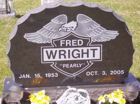 """WRIGHT, FRED """"PEARLY"""" - Franklin County, Ohio 