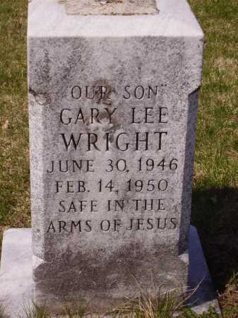 WRIGHT, GARY LEE - Franklin County, Ohio | GARY LEE WRIGHT - Ohio Gravestone Photos