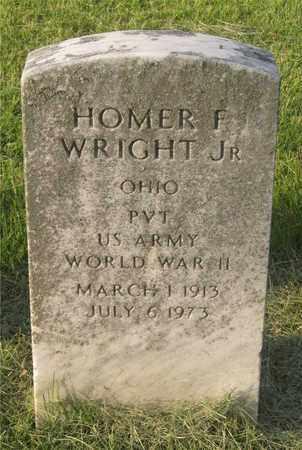 WRIGHT, HOMER F. - Franklin County, Ohio   HOMER F. WRIGHT - Ohio Gravestone Photos