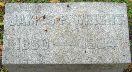WRIGHT, JAMES F - Franklin County, Ohio   JAMES F WRIGHT - Ohio Gravestone Photos