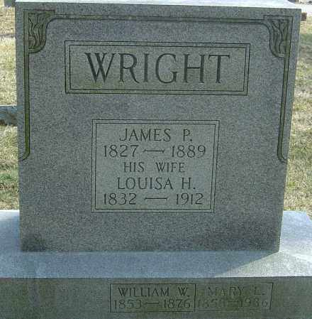WRIGHT, LOUISA - Franklin County, Ohio | LOUISA WRIGHT - Ohio Gravestone Photos