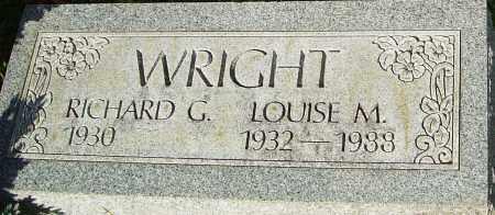 WRIGHT, LOUISE - Franklin County, Ohio | LOUISE WRIGHT - Ohio Gravestone Photos