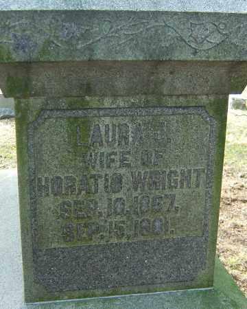 WRIGHT, LAURA J - Franklin County, Ohio | LAURA J WRIGHT - Ohio Gravestone Photos