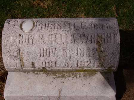 WRIGHT, RUSSELL L. - Franklin County, Ohio | RUSSELL L. WRIGHT - Ohio Gravestone Photos
