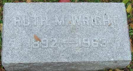 WRIGHT, RUTH M - Franklin County, Ohio | RUTH M WRIGHT - Ohio Gravestone Photos