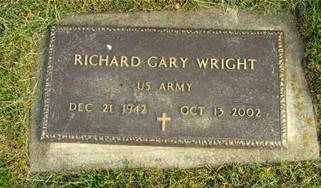 WRIGHT, RICHARD GARY - Franklin County, Ohio   RICHARD GARY WRIGHT - Ohio Gravestone Photos