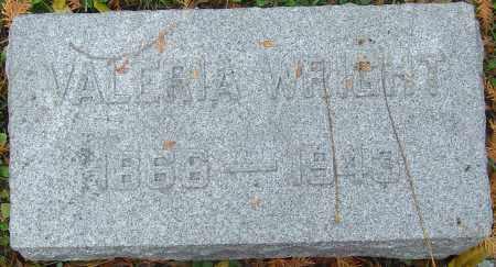 WRIGHT, VALERIA - Franklin County, Ohio   VALERIA WRIGHT - Ohio Gravestone Photos