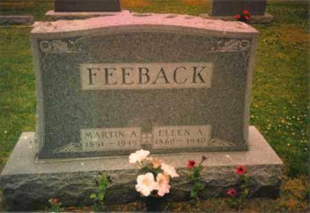 FEEBACK, MARTIN ADAM - Fulton County, Ohio | MARTIN ADAM FEEBACK - Ohio Gravestone Photos