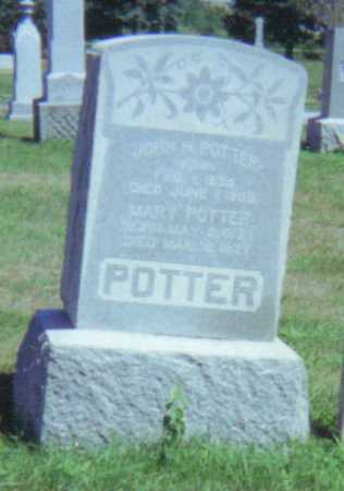 GRANGER POTTER, MARY L. - Fulton County, Ohio | MARY L. GRANGER POTTER - Ohio Gravestone Photos