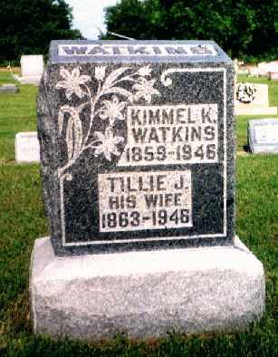 RICHARDSON WATKINS, TILLIE J. - Fulton County, Ohio | TILLIE J. RICHARDSON WATKINS - Ohio Gravestone Photos