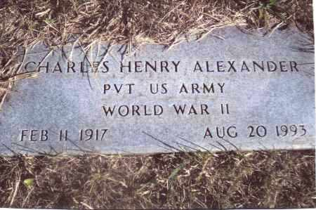 ALEXANDER, CHARLES HENRY - Gallia County, Ohio | CHARLES HENRY ALEXANDER - Ohio Gravestone Photos