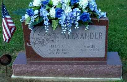 ALEXANDER, ELLIS C - Gallia County, Ohio | ELLIS C ALEXANDER - Ohio Gravestone Photos