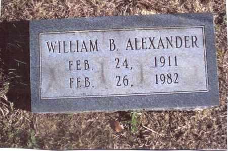 ALEXANDER, WILLIAM B. - Gallia County, Ohio | WILLIAM B. ALEXANDER - Ohio Gravestone Photos
