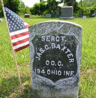 BAXTER, JAMES C. - Gallia County, Ohio | JAMES C. BAXTER - Ohio Gravestone Photos