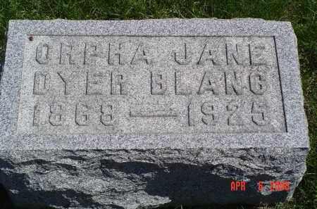 BLANC, ORPHA - Gallia County, Ohio | ORPHA BLANC - Ohio Gravestone Photos
