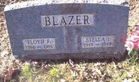 BLAZER, STELLA  I. - Gallia County, Ohio | STELLA  I. BLAZER - Ohio Gravestone Photos