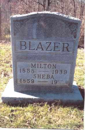 BLAZER, SHEBA - Gallia County, Ohio | SHEBA BLAZER - Ohio Gravestone Photos