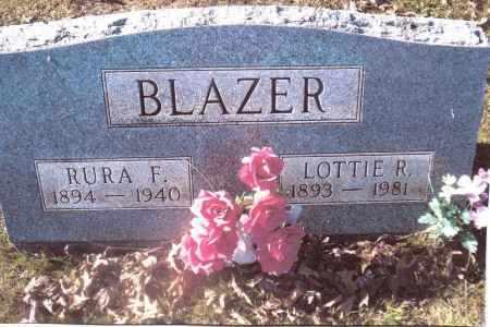 BLAZER, RURA F. - Gallia County, Ohio | RURA F. BLAZER - Ohio Gravestone Photos
