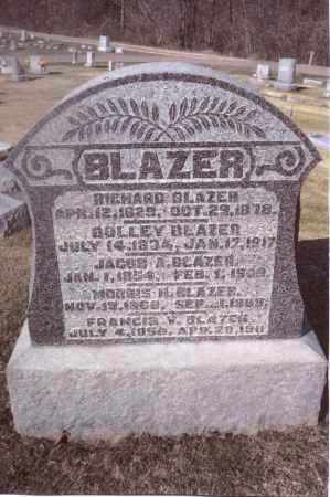 BLAZER, RICHARD - Gallia County, Ohio | RICHARD BLAZER - Ohio Gravestone Photos