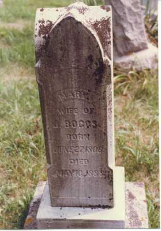WILLIAMS BOGGS, MARY (POLLY) - Gallia County, Ohio | MARY (POLLY) WILLIAMS BOGGS - Ohio Gravestone Photos