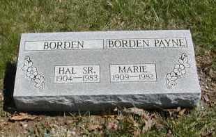 BORDEN, HAL - Gallia County, Ohio | HAL BORDEN - Ohio Gravestone Photos