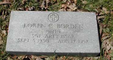 BORDER, LOREN C. - Gallia County, Ohio | LOREN C. BORDER - Ohio Gravestone Photos