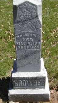 BROWNER, W. H. - Gallia County, Ohio   W. H. BROWNER - Ohio Gravestone Photos