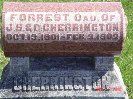 CHERRINGTON, FORREST - Gallia County, Ohio | FORREST CHERRINGTON - Ohio Gravestone Photos