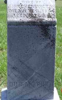 CHERRINGTON, JANE H. - Gallia County, Ohio   JANE H. CHERRINGTON - Ohio Gravestone Photos